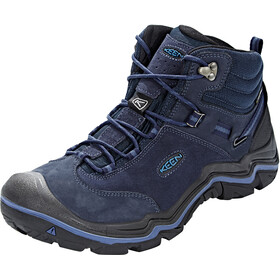 Keen Wanderer Mid WP Shoes Men Dark Sea/Night